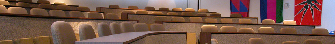 Senate meeting room